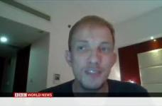 BBC World TV – Interview with Onno van Manen on the massive fire outbreak in the Rohingya Camps