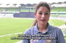 Captain Jahanara Alam speaks on the occasion of safe motherhood day.