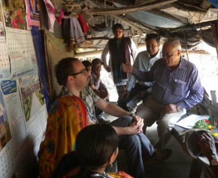 DFID Deputy Country Representative visited Save the Children Programme in Khulna