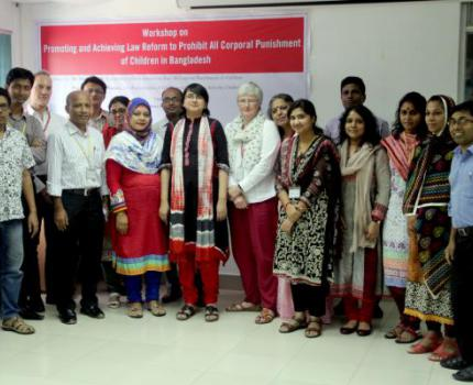 Promoting and achieving law reform to prohibit all corporal punishment of children in Bangladesh