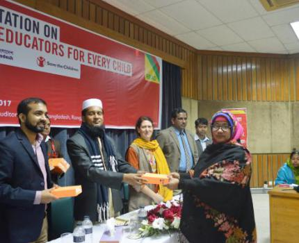Orientation on Quality Educators for Every Child (QE4EC) held in Rangpur