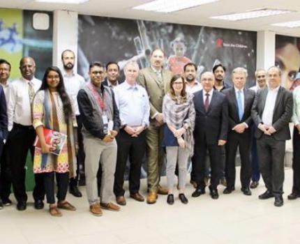 International development committee of UK parliament met SUCHANA team