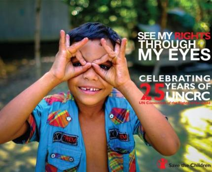 Save the Children leads launch of 'Snapshot of Success' report to celebrate 25th anniversary of UNCRC