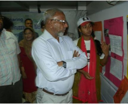 Khulna Mayor Inaugurates Photo Exhibition by Children